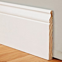 5 1 4 Quot Tall Traditional Profile Real Wood Baseboard