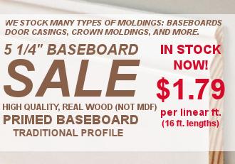 5 1/4 Baseboard